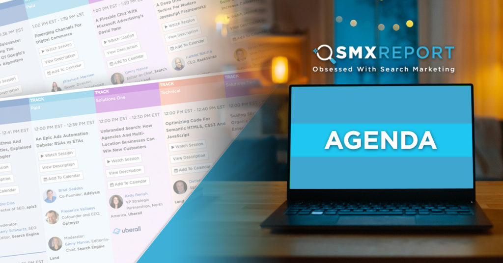 The SMX Report agenda is live!